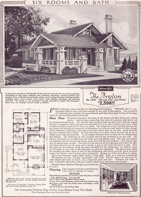 sears roebuck modern homes   families    avalon represented  home owners