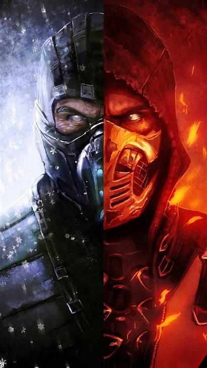 Mortal Kombat Zero Sub Scorpion Wallpapers Iphone