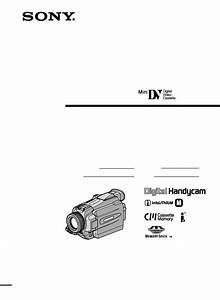 Sony Ccd-trv16
