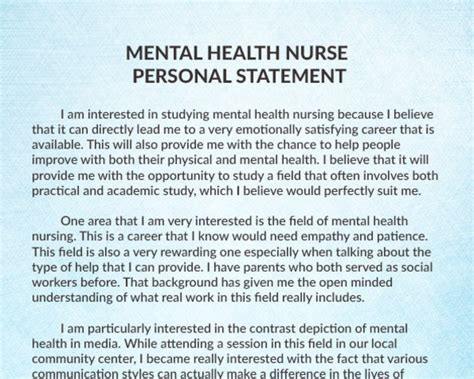 nursing personal statement 1 best essay writer