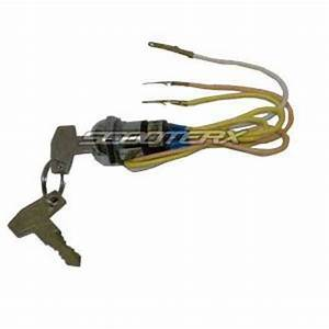 Ignition Key Switch 3 Wire Electric Scooter Razor Motor Currie Boreem Izip Ezip