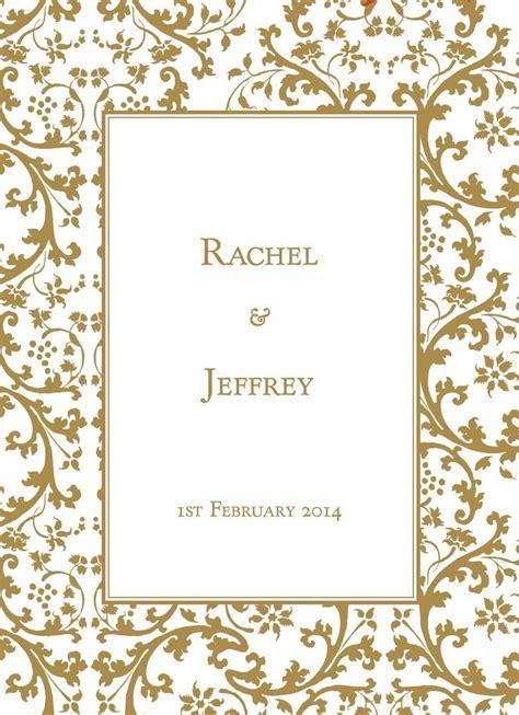 gold border wedding invitations invitations cards printing