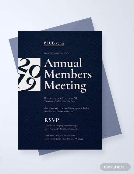 Business Meeting Invitation Event invitation design