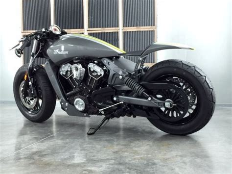 Scout Cafe Racer Custom