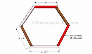 How to build a hexagon planter HowToSpecialist - How to