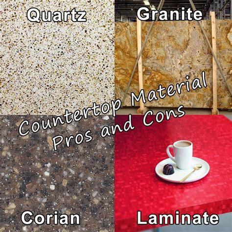 Countertop Selection Guide: Quartz vs. Granite vs. Corian