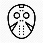 Jason Mask Icon Horror Movie Halloween Killer