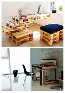 Arts And Crafts Möbel : diy furniture from euro pallets 101 craft ideas for wood pallets interior design ideas ~ Orissabook.com Haus und Dekorationen