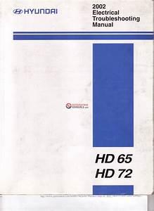 Hyundai Hd65 Hd72 2002 Electrical Troubleshooting Manuals