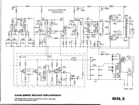 Sony Tc 500a Wiring Diagram carlsbro 60 pa r schematic