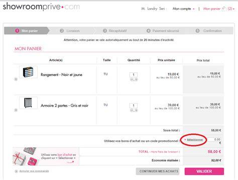 code promo frais de port showroomprive 28 images code promo showroomprive codes promo