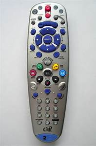 Dish Network Bell Expressvu 6 3 Remote Control Tv2 Ir  Uhf 722 9241 Model 148787