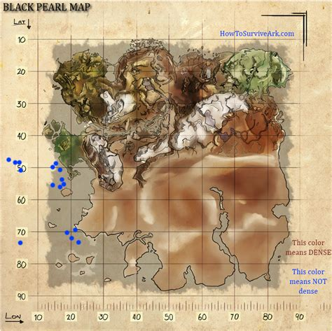 ragnarok black pearl map ark survival evolved