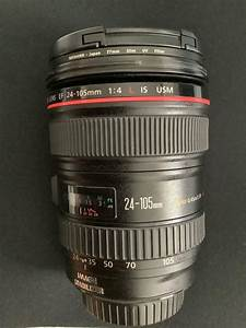 Canon EF 24-105mm with Japan Slim UV Filter, Photography, Lenses on Carousell
