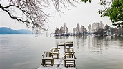 Night in east lake, wuhan photo image_picture free ...