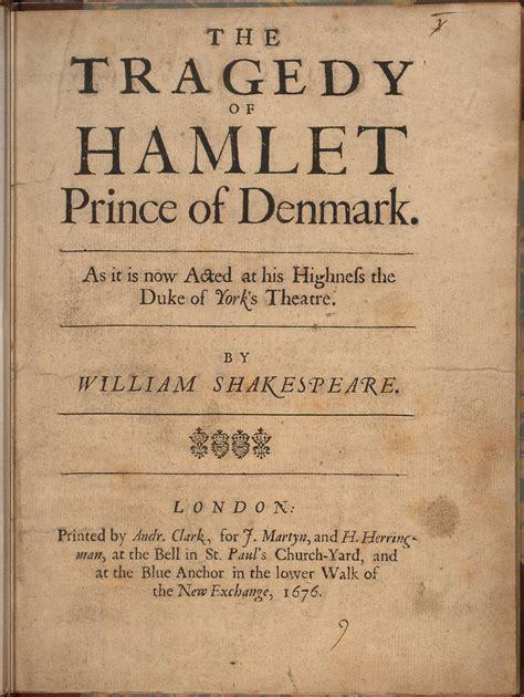 Hamlet, Shakespeare  Roger's Books