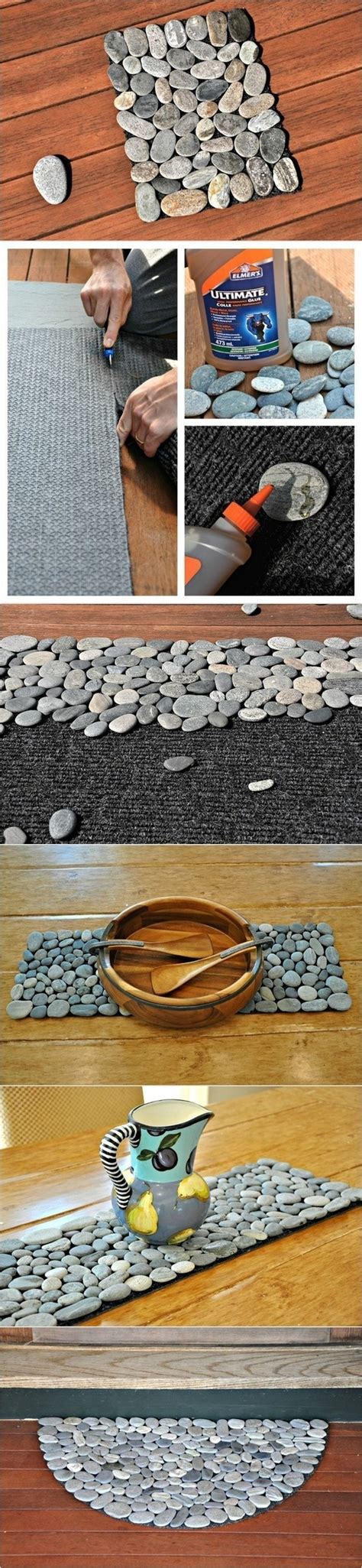 Pebble Doormat by 31 Useful And Most Popular Diy Home Ideas