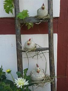 Hühner Aus Beton : meine h hner sind glasiert frostsicher gebrannt und auf ~ Articles-book.com Haus und Dekorationen
