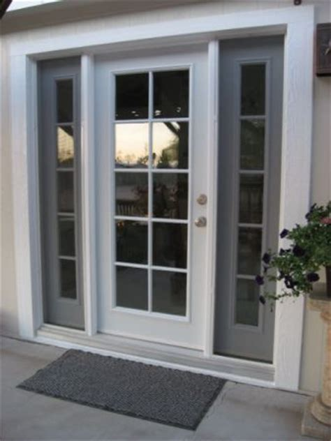 Single French Style Door With Insulated Glass And