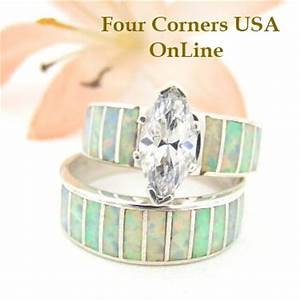native american wedding ring sets for him and her four With native american wedding ring sets