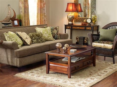 brown livingroom the summer palette choices of green and brown for all rooms interior design ideas and