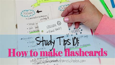 Study Tips #2 How To Make Effective Flashcards Youtube