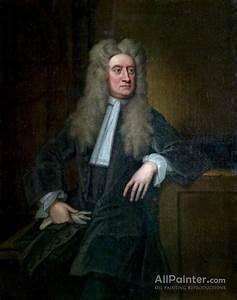 Sir Godfrey Kneller, Bt. Sir Isaac Newton Oil Painting ...