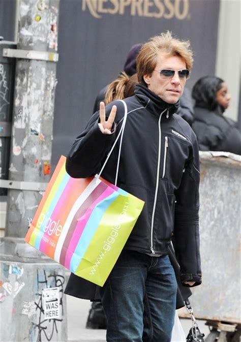 Dorothea Hurley Photos Jon Bon Jovi Shopping With His