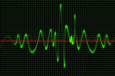 oscilloscope wave sound pattern stock photo colourbox