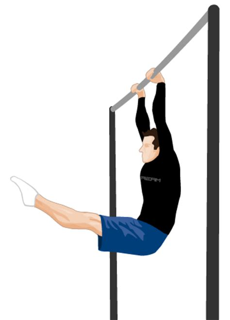 Hanging L by L Hang Bodyweight Exercises Fitstream