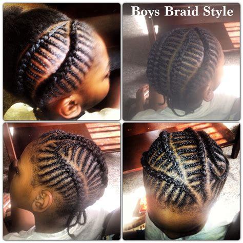 Boy Braid Hairstyles by Boys Braids Children S Hair Boy