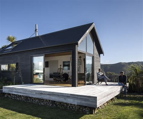 small home designs floor plans a bach style studio with gob smacking views of wellington