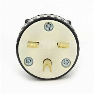 Superior Electric Yga020 Straight Electrical Plug 3 Wire