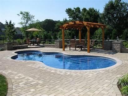Pool Landscaping Hardscape Palace Pools Crystal Jumbo