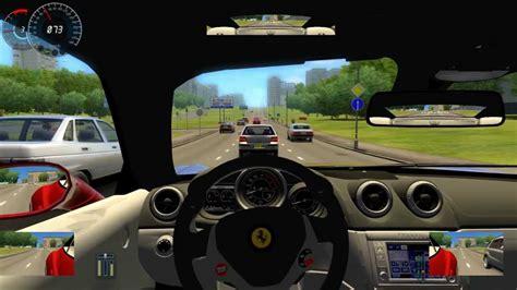 Ferrari California City Car Driving Simulator Hd1080p