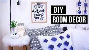 DIY Tumblr + Pinterest ROOM DECOR! 2016 - YouTube