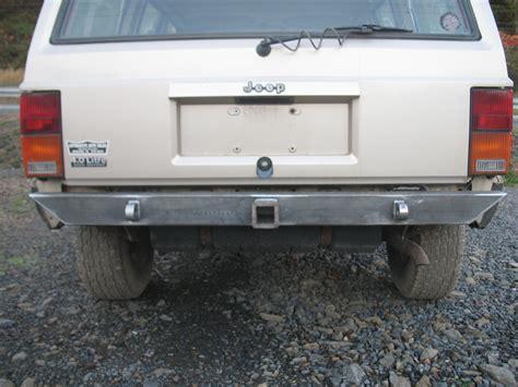 jeep cherokee rear bumper affordable rear bumper jeep cherokee xj 84 01