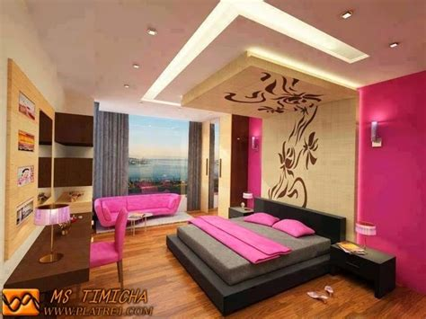 decoration platre chambre décoration chambre platre exemples d 39 aménagements