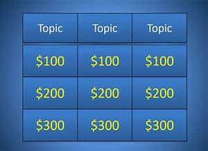 best jeopardy powerpoint template easy jeopardy video With free jeopardy template with sound