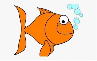 Goldfish Crackers Cracker Clipart Cartoon Orange Fish