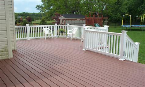 composite deck designs composite decking picture  decks