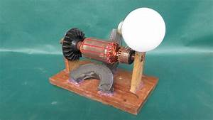 How To Make Simple Electric Motor Generator