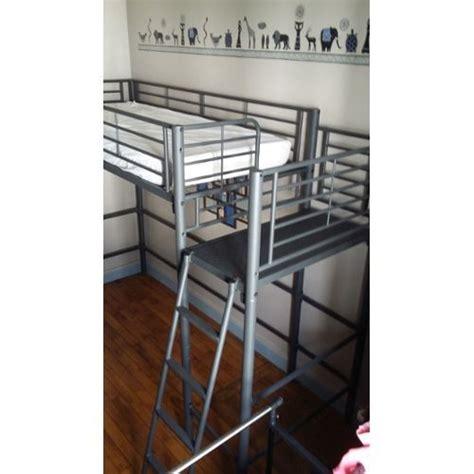 bureau intégré lit mezzanine alinéa clasf