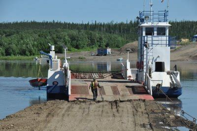 Ferry Abraham by Adventure Caravans Rv Tour To The Canadian Northwest