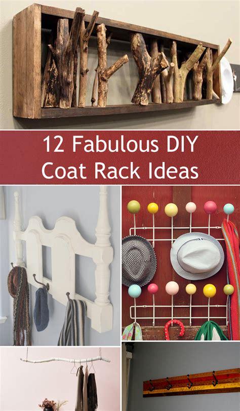 fabulous diy coat rack ideas