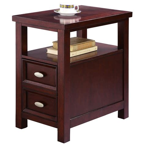 chair side tables with storage stand side table end living bed room furniture wood