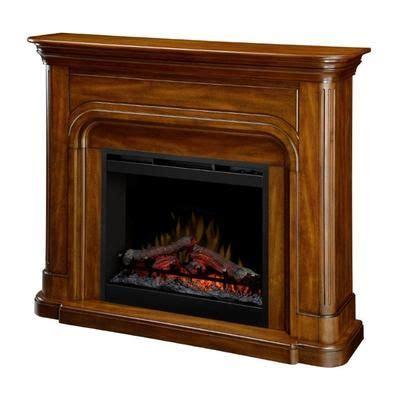 fireplace mantels canada dimplex manteau dawson dfp26 1339bw home depot