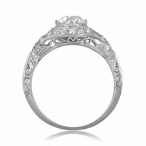 102ct tuscany engagement ring estate diamond jewelry With tuscan wedding rings