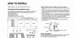 Conia Air Conditioner Manual Ca24003