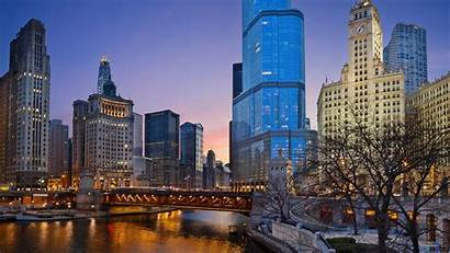 Illinois State Wallpapers Wallpapersafari Evening Chicago 1920